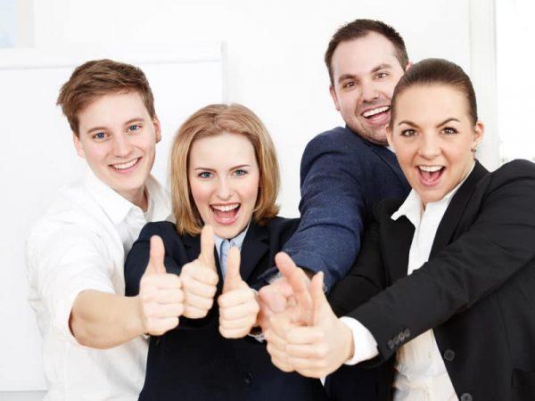 Foto Begeisterte Kunden